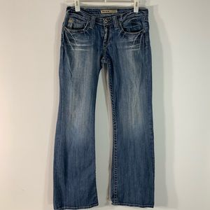 Big Star Sweet ultra low rise boot cut